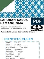 Case Hemangioma - RSUD Cilegon