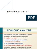 02. Economic Analysis - I