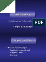 269593335-Bedah-Minor-Simpul-Jahit.ppt