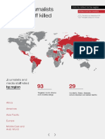 International Federation of Journalists (IFJ) report on Media attacks 2016