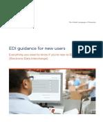 EDI Guidance for Newusers Brochure