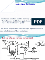 Gas Turbine Powerplant