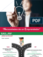 Emprendedores SAS RIF 2.2 reloaded