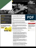 Action Plan on Urban Poverty