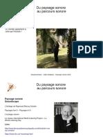 Formation Paysage et parcours Sonores ONF- Ressources