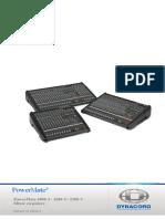 PowerMate Owners Manual RO