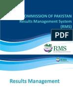 RMS Presentation Result Tabulation