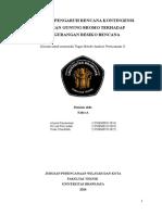 Pengaruh Rencana Kontigensi Letusan