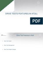 Atoll 3.1.0 Drive Tests