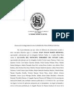 Ponencia de La Magistrada Doctora Carmen Elvigia Porras de Roa
