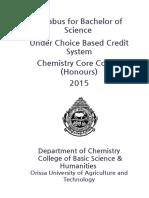 +3 Chemistry Syllabus