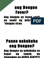 Ano Ang Dengue Fever