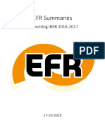 EFR Summaries Accounting 2016-2017