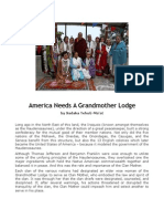 America Needs a Grandmother Lodge