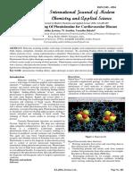 Molecular Modelling Of Phentolamine for Cardiovascular Disease