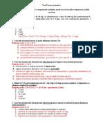 Test Farmacocinetica - C 2014-2015 Cu Raspunsuri