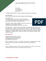 Teks Pengacaraan Majlis Restu Ilmu PT32015