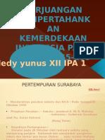 Perjuangan Mempertahankan Kemerdekaan Indonesia Tahun 1945 - 1949