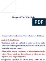 Design of Two Way Slabs 1
