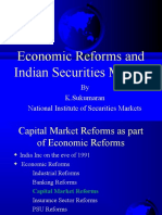 Eco Reforms& Indian Securities Market (2016)