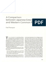 Fred Thompson-A Comparison Between Japanese Exterior Space and Western Common Place