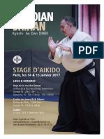 01/2017 Aikido Seminar Paris