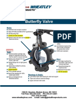 Wheatley Butterfly Valve