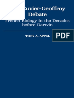 Toby a. Appel-The Cuvier-Geoffrey Debate_ French Biology in the Decades Before Darwin-Oxford University Press, USA (1987)
