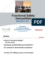 Functional Safety Demystified PMCSG Sep 2011