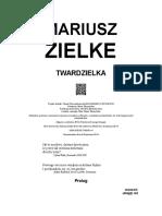 Zielke Mariusz - Twardzielka.rtf