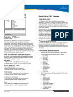 RadioLinx OPC Server Datasheet