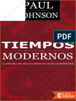 Paul Johnson-Tiempos Modernos