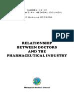 Relationship Between DoctorsThe Pharmaceutical Industry