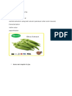 Extraction of Okra Seed Oil