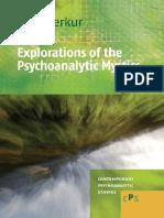 Explorations of the Psychoanalytic Mystics Contemporary Psychoanalytic