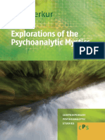 Explorations of the Psychoanalytic Mystics Contemporary Psychoanalytic