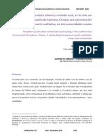 Alvarez Cisneros, Wilder Prevalencia Del Contexto Urbano y Vivienda Rural