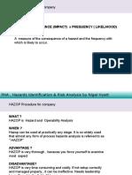 Day 5 - Hazop Procedure for Company