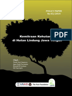 Policy Paper No 3 Kemitraan Kehutanan Di Hutan Lindung Jawa Tengah
