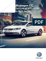 Fiche Volkswagen Cc