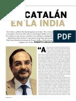 Un catalán en la India