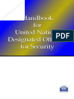 Handbook Security for Security Officials