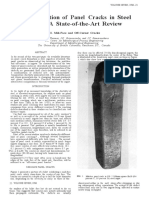 86_The Formation of Panel Cracks in Steel Ingots- A State-Of-The-Art Review - II. Mid-Face and Off-Corner Cracks