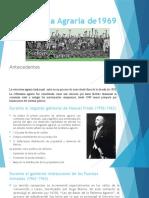 La Reforma Agraria De1969
