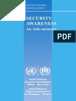 Security Awareness Aide Memoire