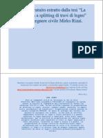 Report gratis tesi