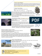 Finders pocket guides for Pacific Coast region