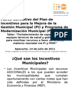 Marco Normativo Del PI Para La Mejora de La Gestión Municipal y PPM_ Pedro M.
