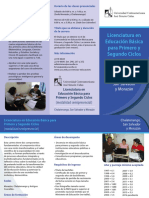 Brochur Lic Educ Basic 1o y 2o Ciclo Semipres (Oct2016) c