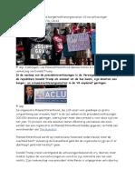 3 Enorme Stijging Donaties Burgerrechtenorganisaties vs Na Verkiezingen